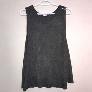 Garage Gravel Grey Extra Stretch Tank Muscle Tee